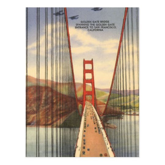 Vintage San Francisco, USA - Postcard