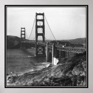 Vintage San Francisco, USA - Poster