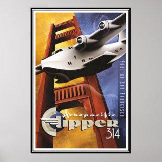 Vintage San Francisco, USA - Posters