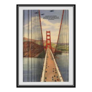 Vintage San Francisco, USA - Poster
