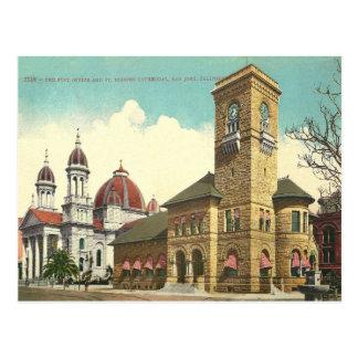 Vintage San Jose California Postcard