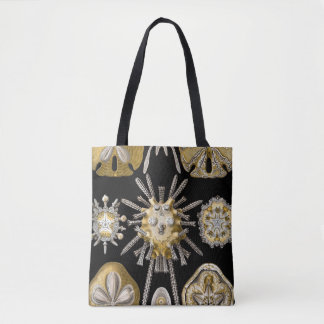 Vintage Sand Dollars Sea Urchins by Ernst Haeckel Tote Bag