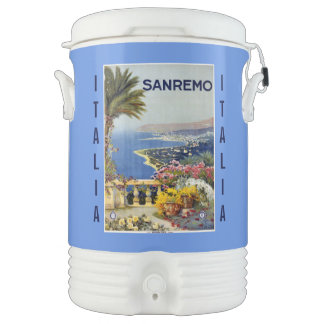 Vintage Sanremo custom beverage cooler