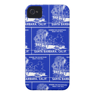 Vintage Santa Barabara California iPhone 4 Case-Mate Case