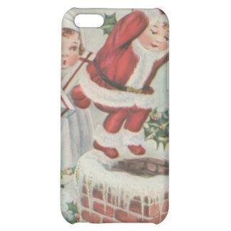 Vintage Santa Children iPhone 5C Cover