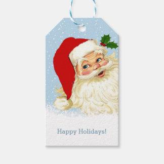 Vintage Santa Christmas Gift Tags