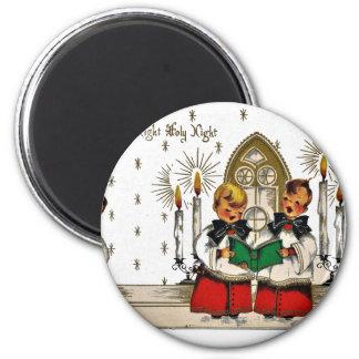 vintage-santa-christmas-post-cards-0029 magnet