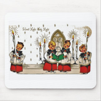 vintage-santa-christmas-post-cards-0029 mouse mat