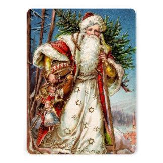 Vintage Santa Claus 5 Invites