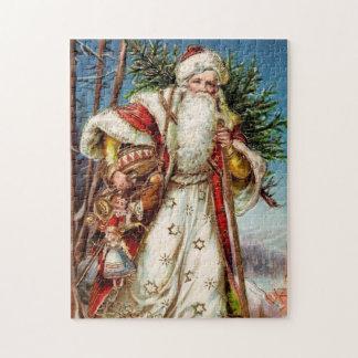Vintage Santa Claus 5 Jigsaw Puzzle