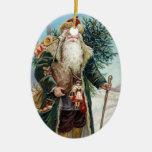Vintage Santa Claus 6 Christmas Tree Ornament