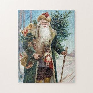 Vintage Santa Claus 6 Jigsaw Puzzle