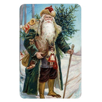 Vintage Santa Claus 6 Vinyl Magnet