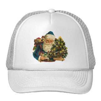 Vintage Santa Claus Bearing Gifts For Everyone Trucker Hat