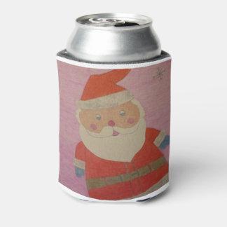 Vintage Santa Claus Can Cooler