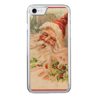 Vintage Santa Claus Carved iPhone 8/7 Case