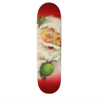 Vintage Santa Claus Christmas 20.6 Cm Skateboard Deck