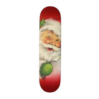 Vintage Santa Claus Christmas 21.6 Cm Skateboard Deck