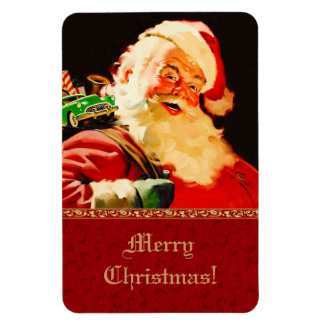 Vintage Santa Claus Christmas Gift Magnets