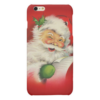 Vintage Santa Claus Christmas iPhone 6 Plus Case