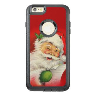 Vintage Santa Claus Christmas OtterBox iPhone 6/6s Plus Case