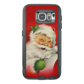 Vintage Santa Claus Christmas OtterBox Samsung Galaxy S6 Case
