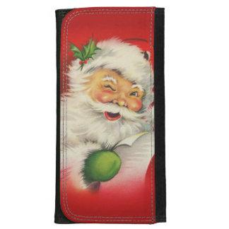 Vintage Santa Claus Christmas Women's Wallet
