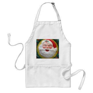Vintage Santa Claus face Aprons