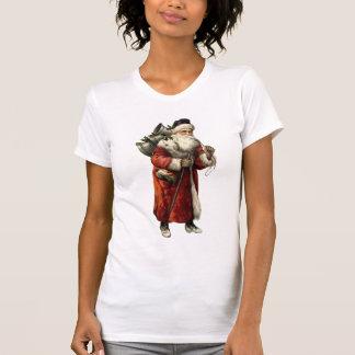 Vintage SANTA CLAUS Father Christmas Fashion T-Shirt