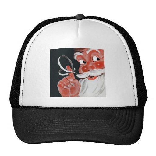 Vintage Santa Claus Mesh Hats