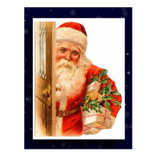 Vintage Santa Claus Image Postcard