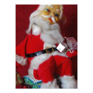 Vintage Santa Claus Invite