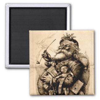 Vintage Santa Claus Fridge Magnet