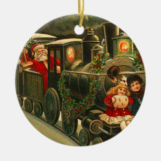 Vintage Santa Claus Ornament
