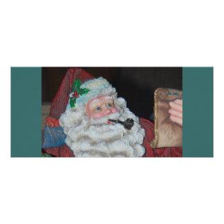 Vintage Santa Claus Full Color Rack Card