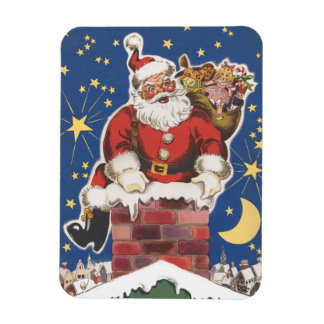Vintage Santa Claus, Twas Night Before Christmas Magnet
