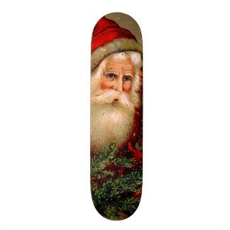 Vintage Santa Claus with Walking Stick Skate Board Decks