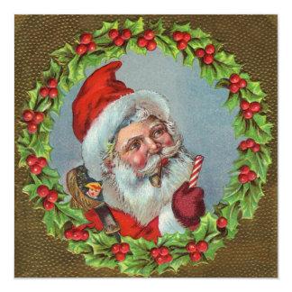Vintage Santa Clause Invitations