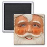 Vintage santa face magnets