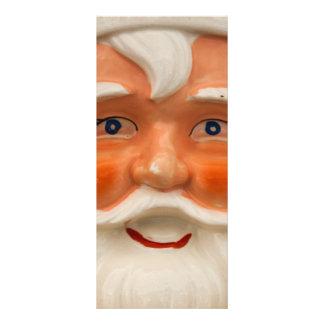 Vintage santa face rack cards
