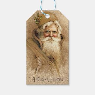 Vintage Santa Gift Tags