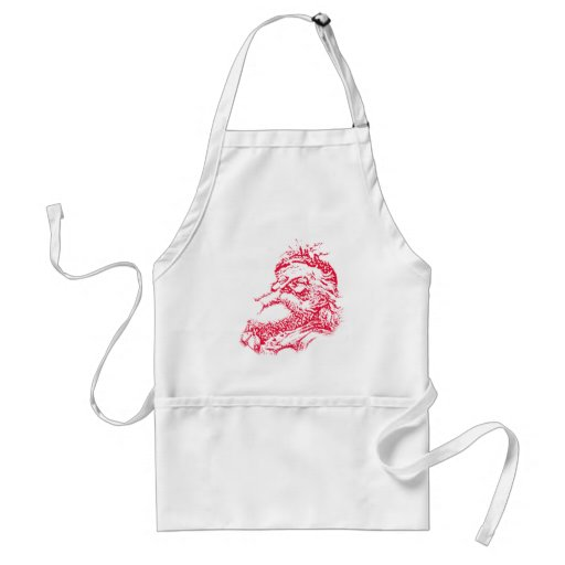 Vintage Santa Graphic T-shirts, Stocking Stuffers Aprons