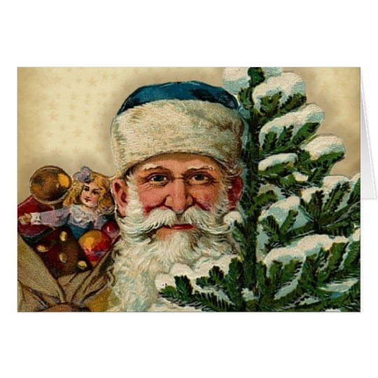 Vintage Santa: Greeting Cards