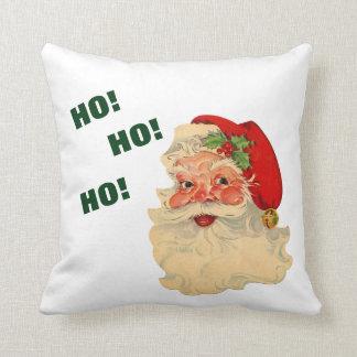 Vintage Santa Ho! Ho! Ho! Cushion