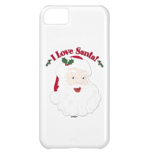 Vintage Santa I Love Santa! iPhone 5C Covers