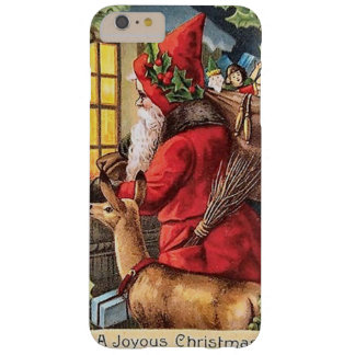 Vintage Santa iPhone 6 plus barely there case Barely There iPhone 6 Plus Case