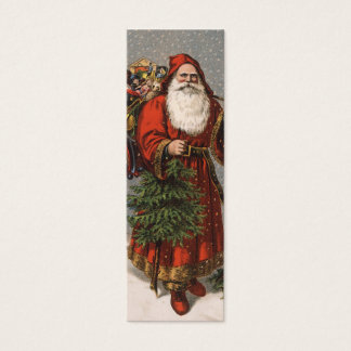 Vintage Santa Love note or Gift tag