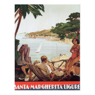 Vintage Santa Margherita Ligure Postcard