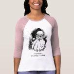 Vintage Santa Merry Christmas Women's t-shirt