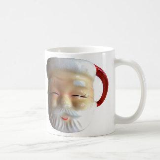 Vintage Santa Mug Mug (Blinking)